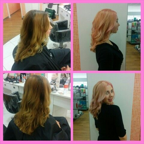 Hair color service done by ingrid master designer 2 at for Ulta hair salon