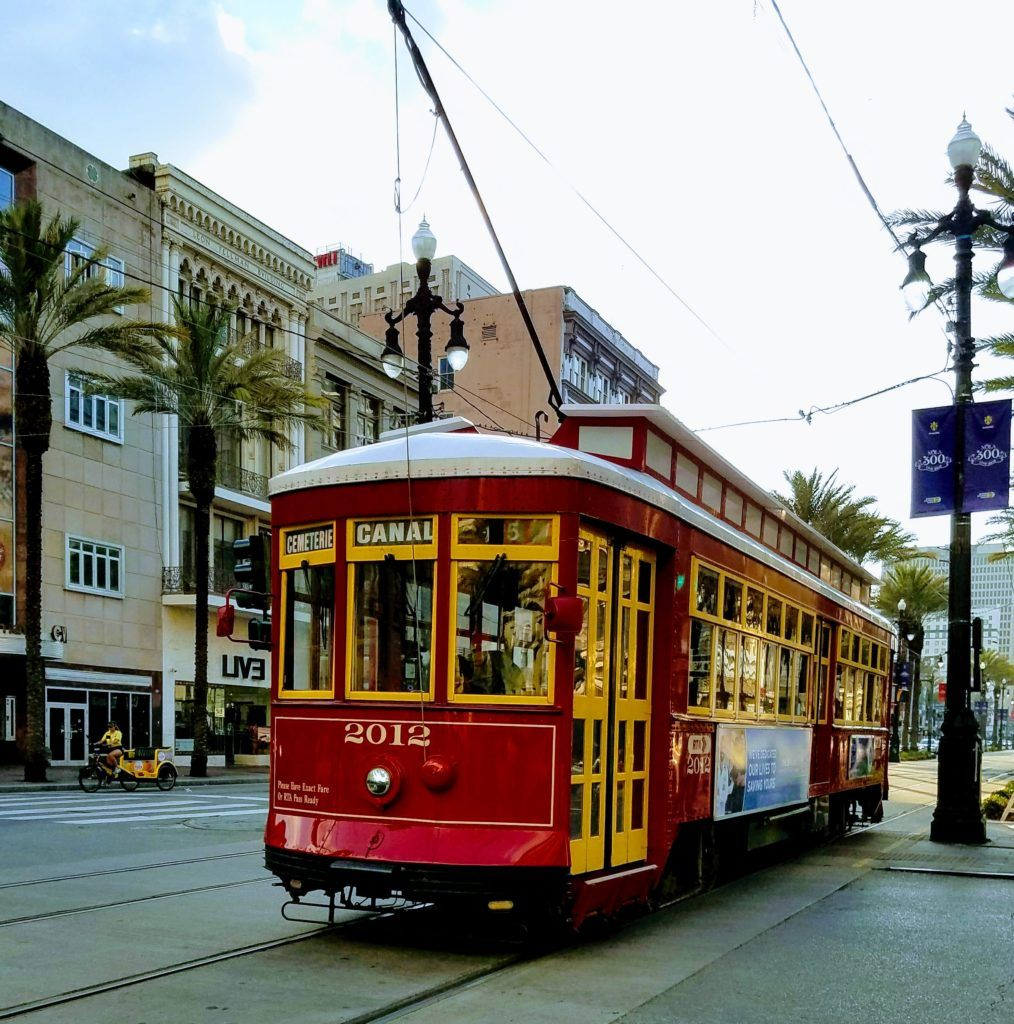 Canal Street Streetcar New Orleans With Images Crescent City New Orleans Orleans