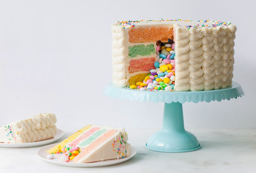 Photo of Make Your Own Candy-Filled Piñata Cake
