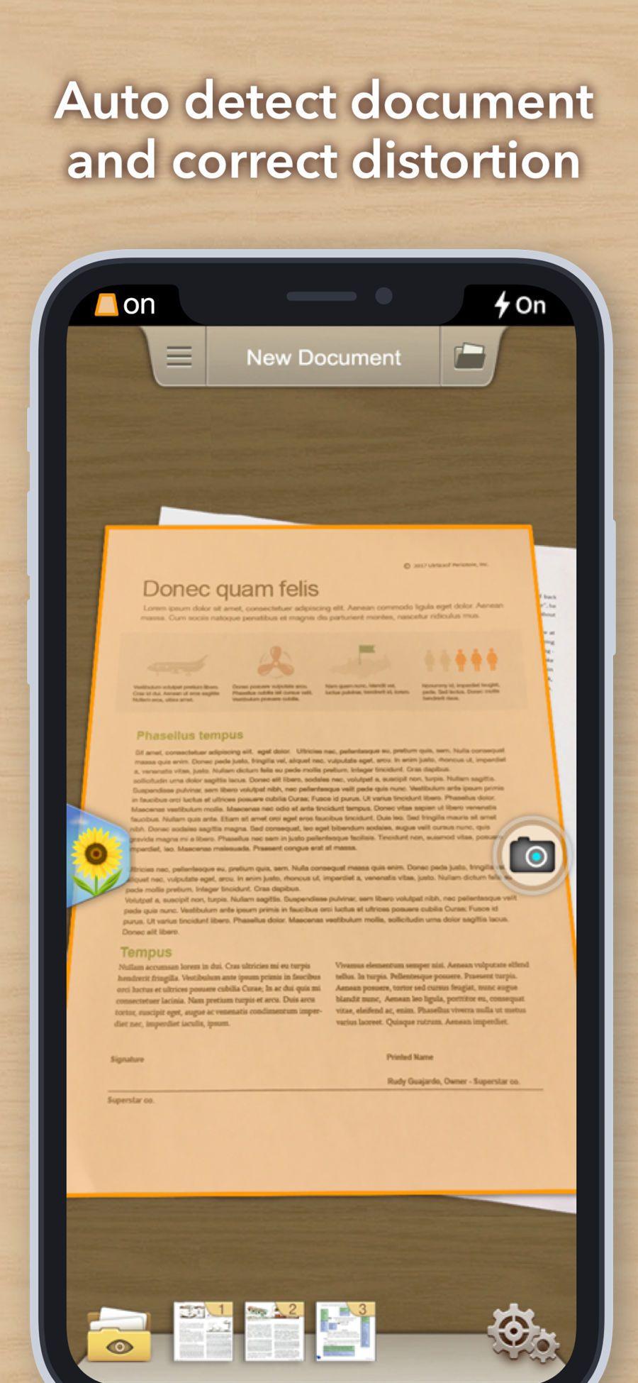 Doc Scan Fax PDF Scanner BusinessIFUNPLAYios