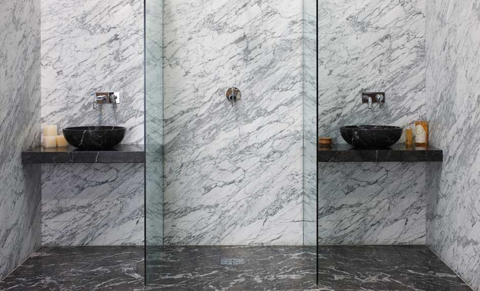 Wetrooms Wall To Celing Slabs Perfect Stone Wetrooms With