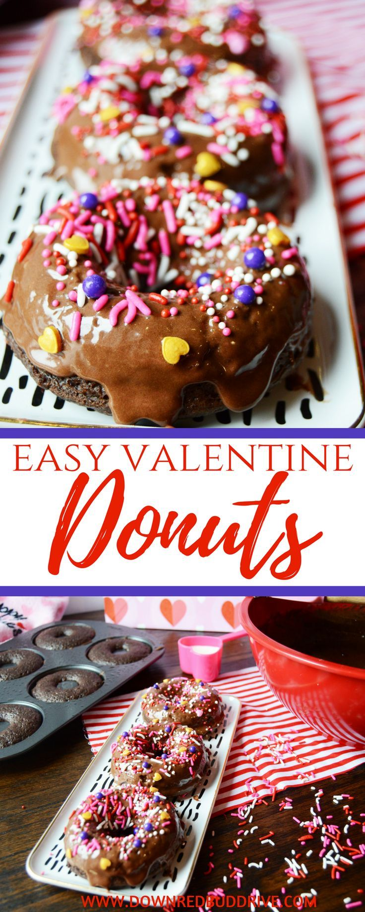 Fancy Dinner Party Ideas Part - 47: Valetineu0027s Day Donuts | Homemade | Recipes | Recipe | Fancy | Dinner Party  | Ideas