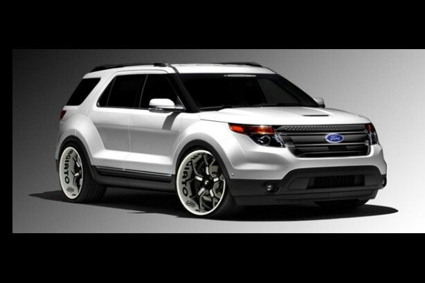2013 Ford Explorer Lowered With Images Ford Explorer Ford