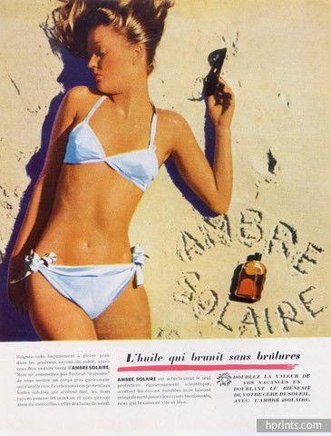 Ambre Solaire 1947 Lucien Lorelle Yup 1947 !