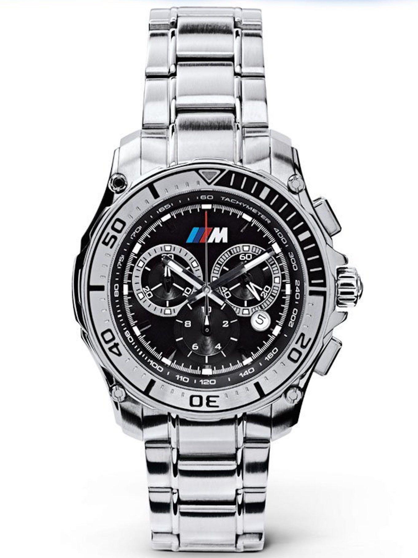 79f06b48319b BMW M Stainless Steel Chronograph Racing Watch