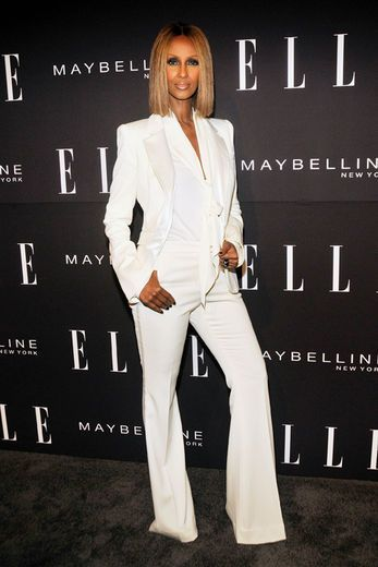 Runway To Red Carpet: IMAN @ ELLE New York Fashion Week 2012