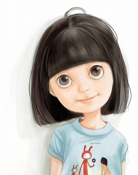 Does This Vaguely Look Like Me Little Girl Illustrations Character Illustration Cute Illustration