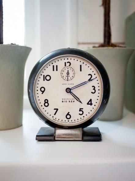 Antique Big Ben Alarm Clock In The Newly