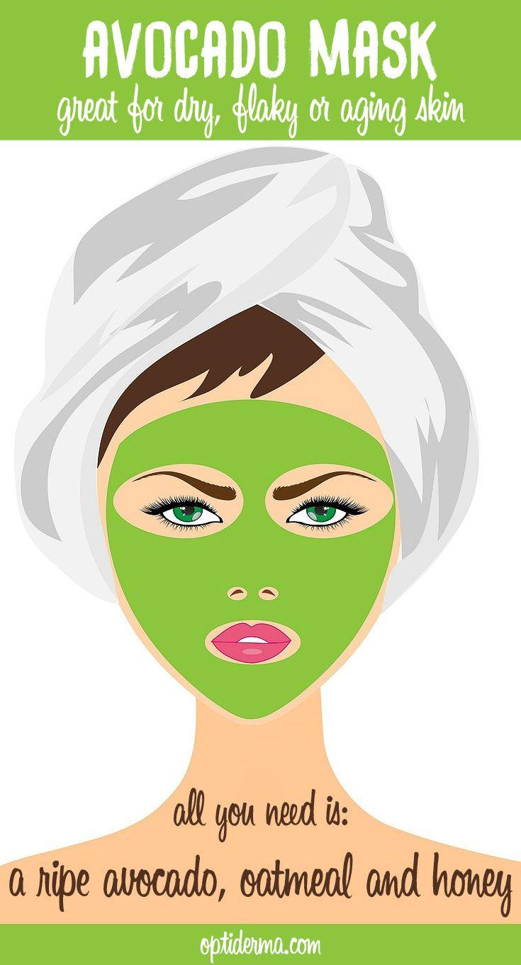 Avocado facial home remedy