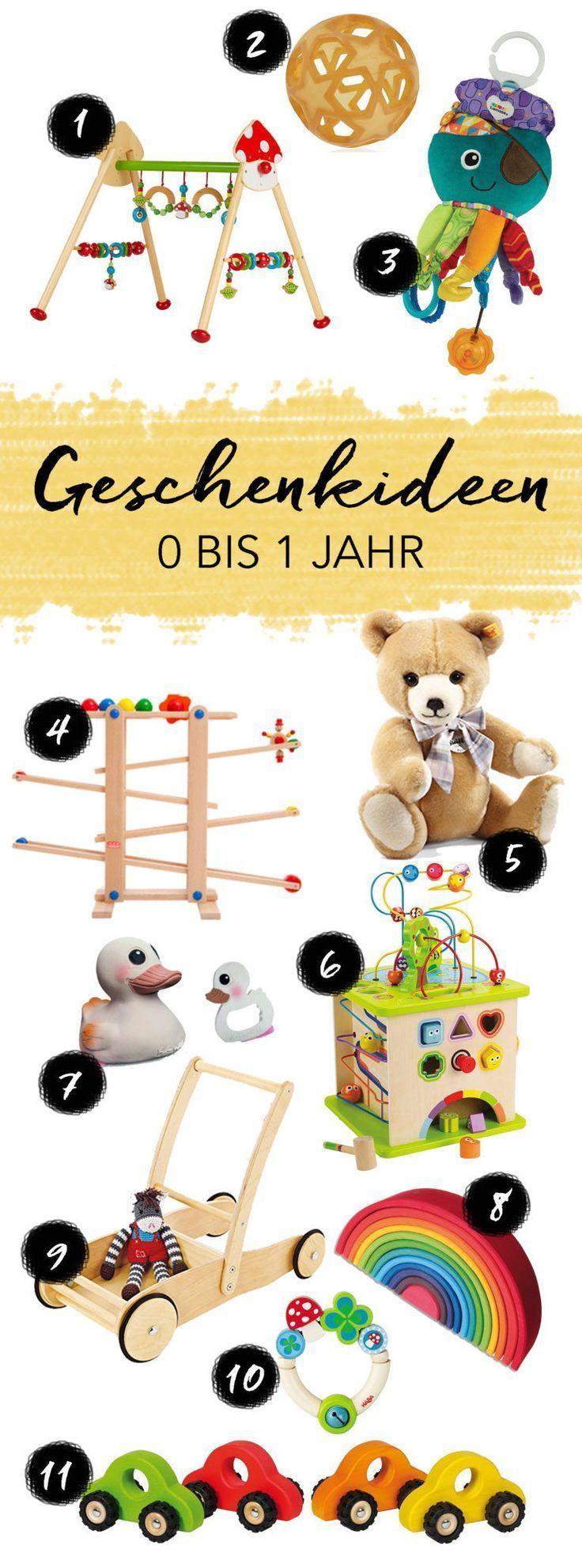 9 Geschenkideen für Kinder zum 1. Geburtstag   Geschenkideen