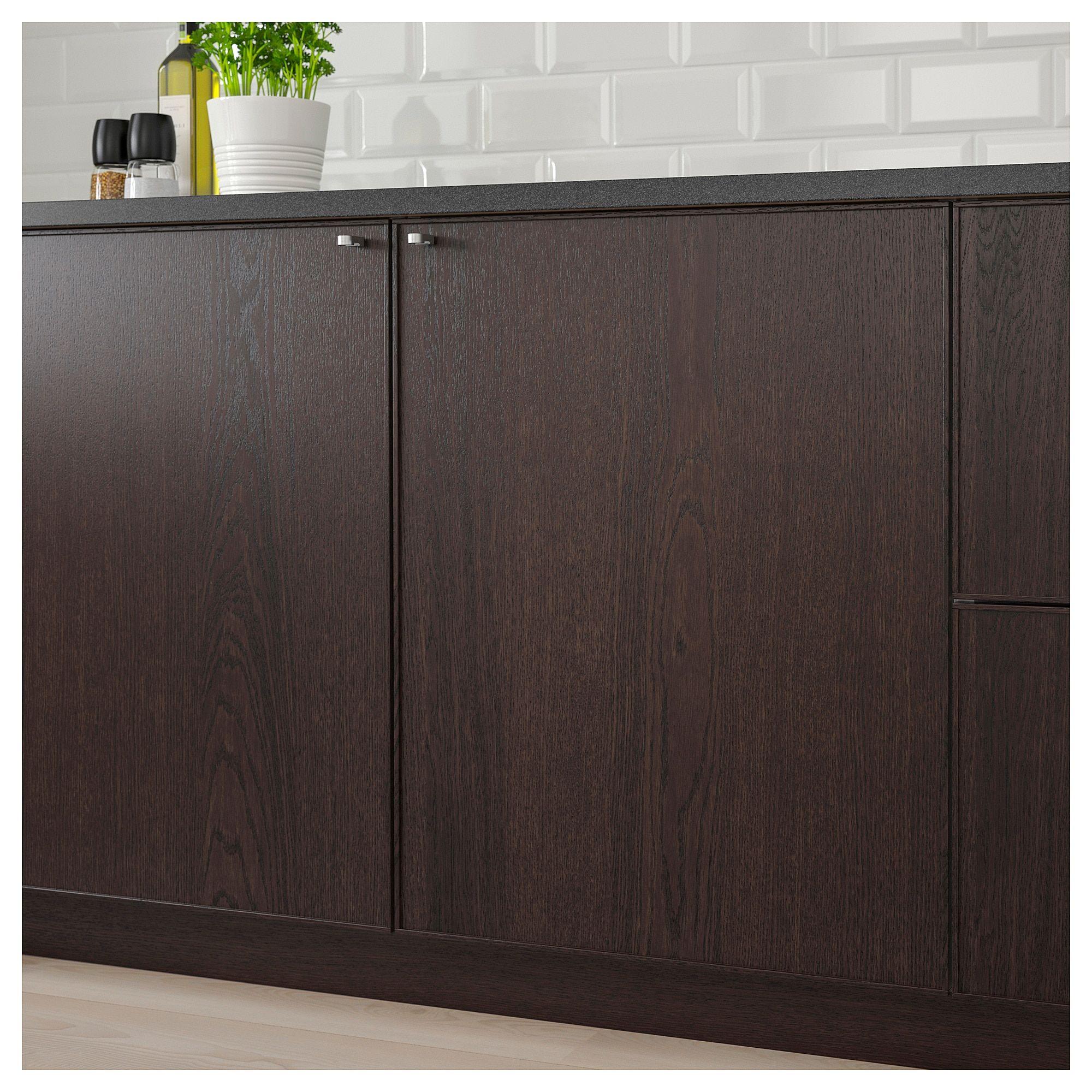 Ikea Kitchen Usa: EKESTAD Door Brown In 2019