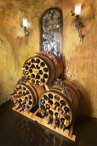 The Barrel Rack Announces its Largest Wine Rack for Wine Connoisseurs in time for the Holiday Season!  It is a great holiday gift for a wine collector looking for a stylish statement piece to showcase a wine collection.  https://www.barrelrack.com