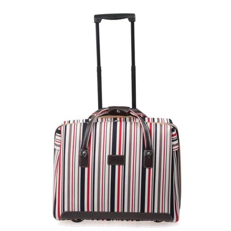 Best Ing Rolling Luggage Color Lattice Password Lock Computer Trolley Case Box Bag Spinner Wheels Travel