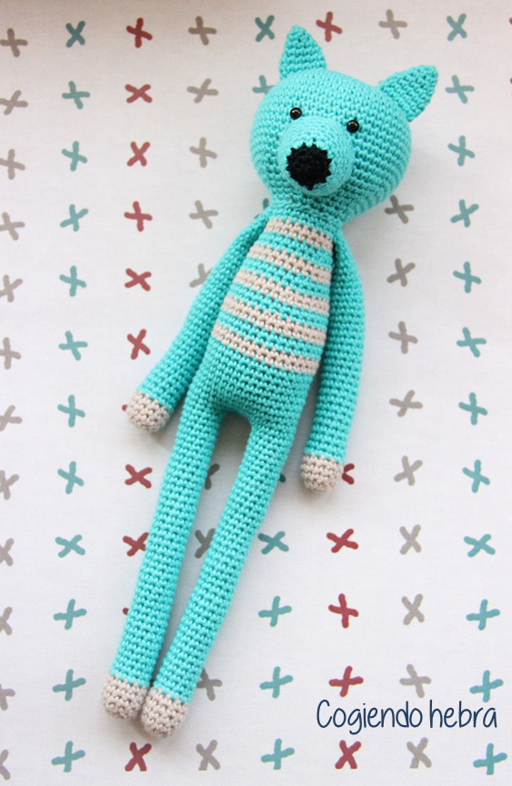 Zorro amigurumi a crochet. Pattern free | gatitos y otros ...