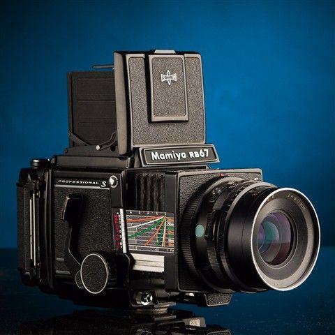 Mamiya RB67 Pro-S w/ Waist-Level Finder, Prism Finder, 90mm f/3.8 C Lens, 127mm f/3.5 K/L Lens, 120 Back and Polaroid Back