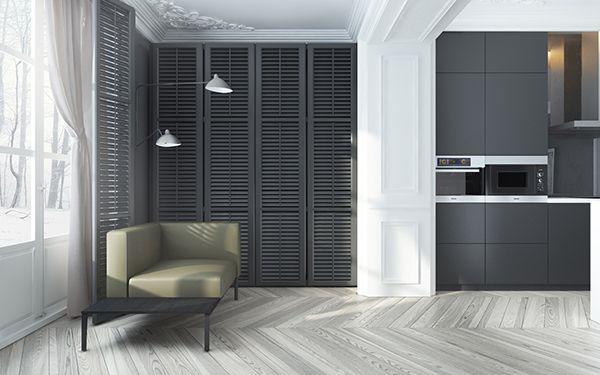 A pair of dark and enchanting homes interior design ideas