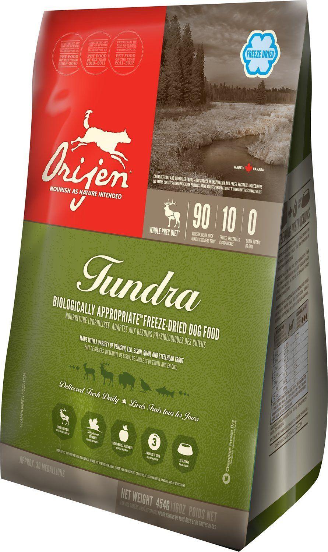 Description Orijen Tundra FreezeDried Dog Food delivers