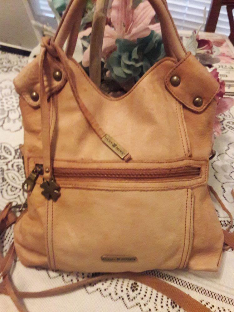 54e48da626a7 Lucky Brand Logan Flap Tan Soft Leather Crossbody Bag Shoulder  197 Retail  MINT  LuckyBrand  MessengerCrossBody