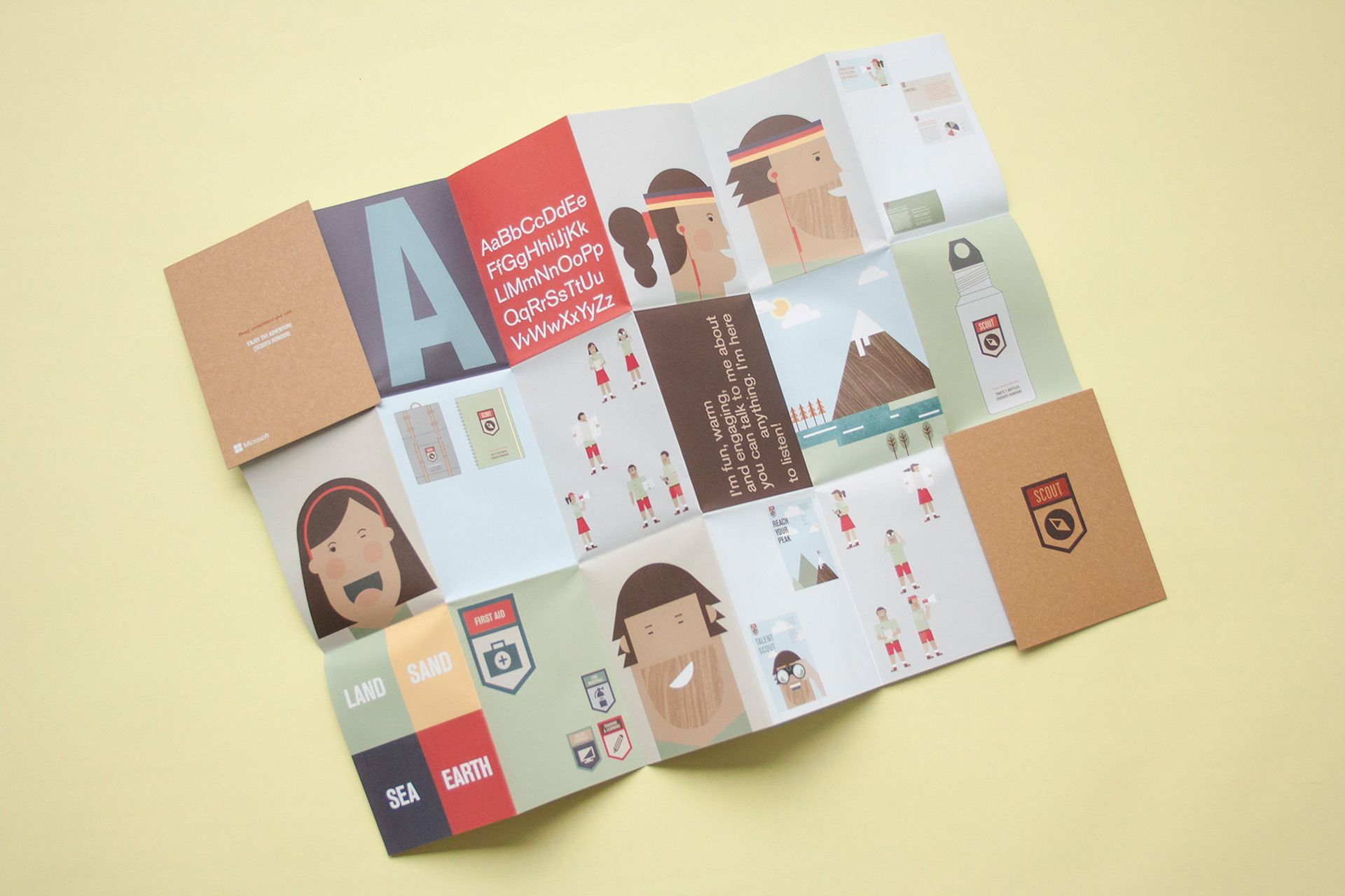 Microsoft Scout Change Management on Behance | GraphicDes
