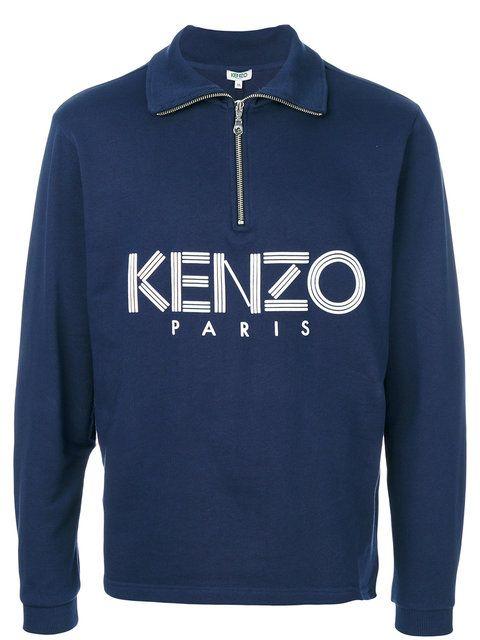 Kenzo zip placket top