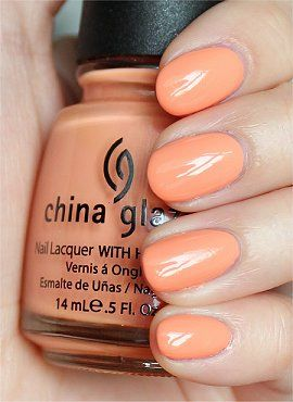 929c76df2e8d2 China Glaze Peachy Keen - i (audrey) own this and live it!!! i bought it  off amazon for  3-4 with free shipping and am head over heels in love. it  ...