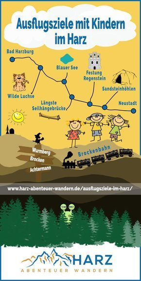 Photo of Destinos de excursión con niños en las montañas de Harz #Harz #Vacaciones con niños # Destinos de excursión