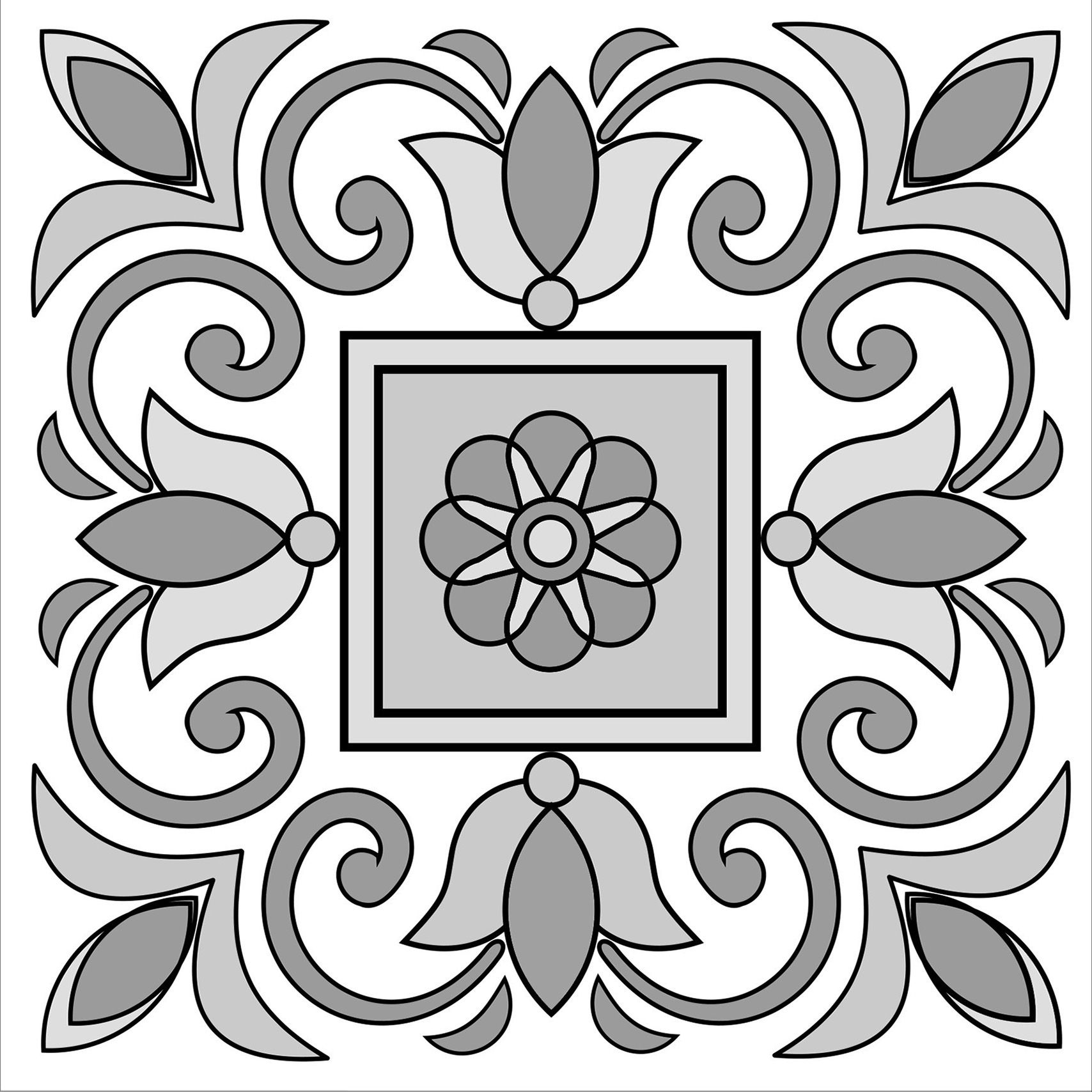 1711 7 seville tile styled seville tiles style tile Marmoleum Kitchen Floor 1711 7 seville
