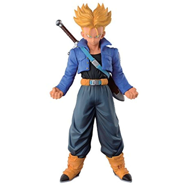 Banpresto Dragon Ball Z 9.4-Inch Super Saiyan Trunks Master Stars Piece Figure,