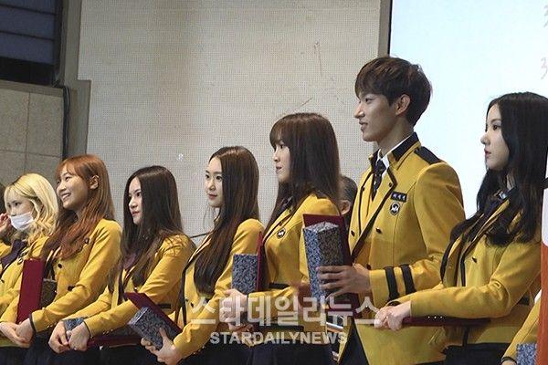 7 K Pop Idols Graduate From Seoul School Of Performing Arts This Year Performance Art Blackpink Debut Korean Uniform School