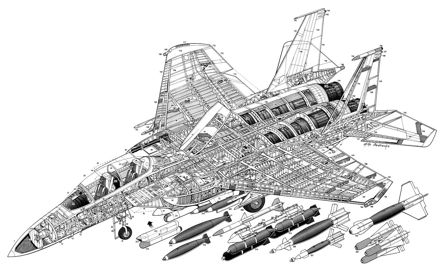 Aircraft Cutaway With Images