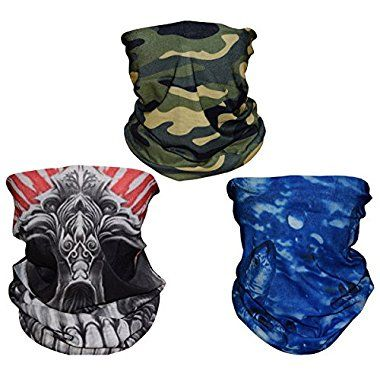 Islamic Clothing Multiple Ways Wear Womens Hijab Bandanas Polyester Military Camouflage Face Mask Neck Warmer Scarf Novelty Special Accessories