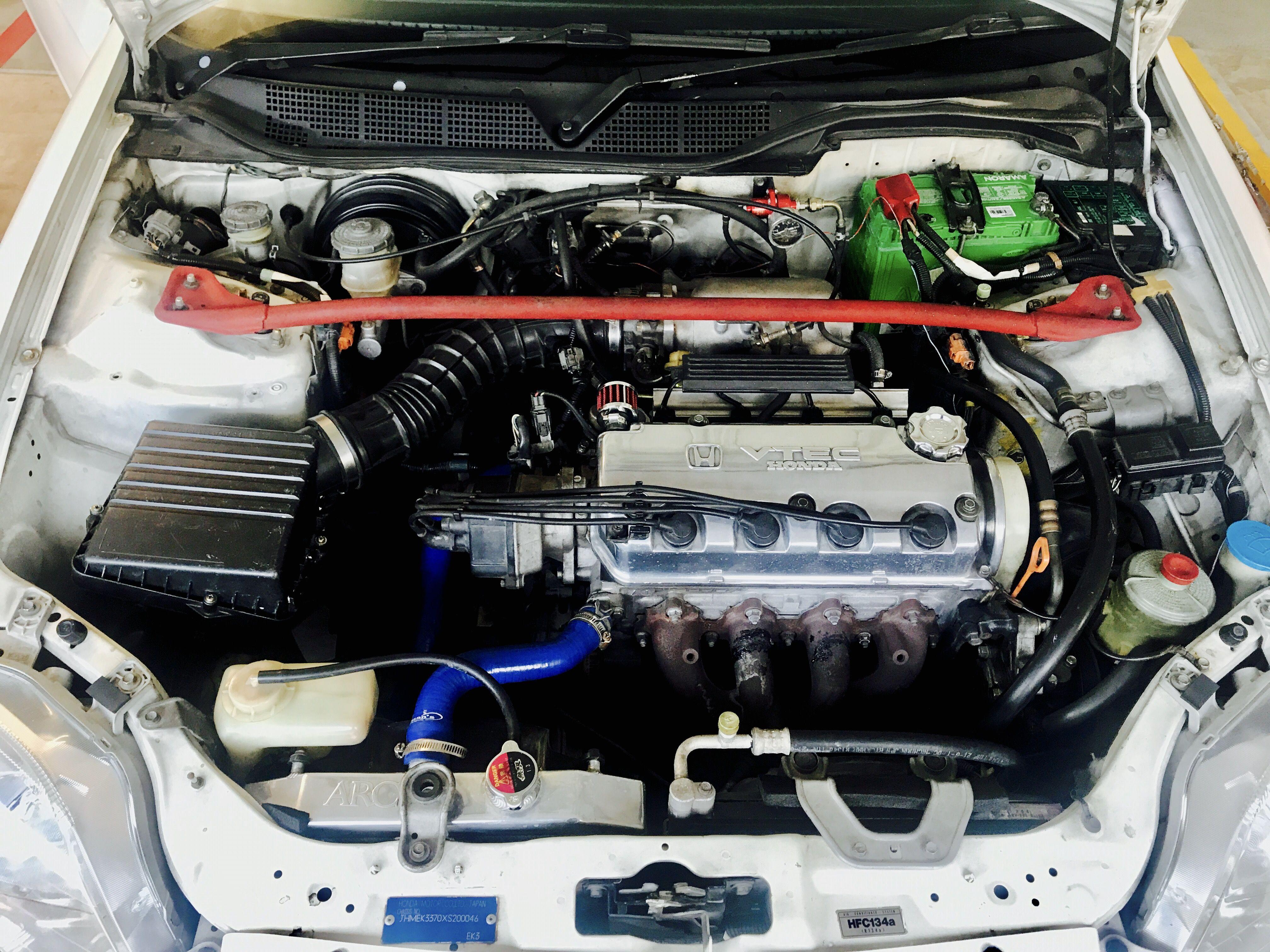 D15z7 Jdm Vtec Sohc Engine Dual Solenoid Honda Civic Vti Ek3 Vtec Honda Civic Engineering