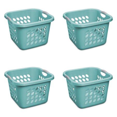 Sterilite 1 5 Bushel 53 L Ultra Square Laundry Basket Case Of 4