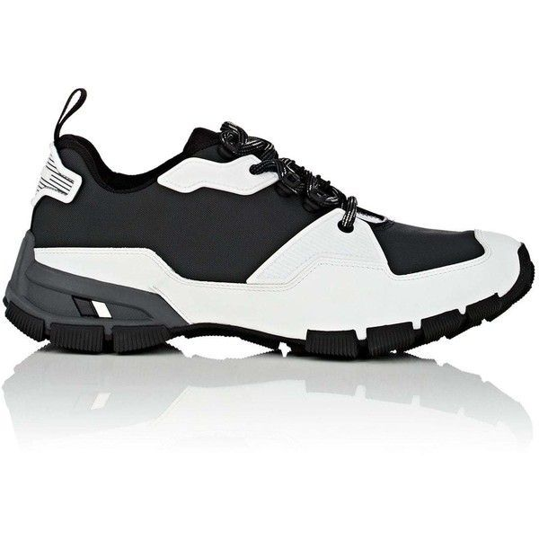 Cheap Sale 2018 New Buy Cheap Low Shipping Mens Tech-Fabric & Rubberized Leather Sneakers Prada Best Choice LPSVcKL6