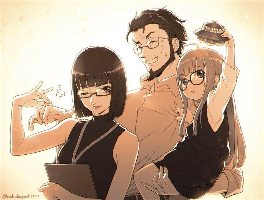 Must Protect Fu Chan Persona 5 Persona Anime