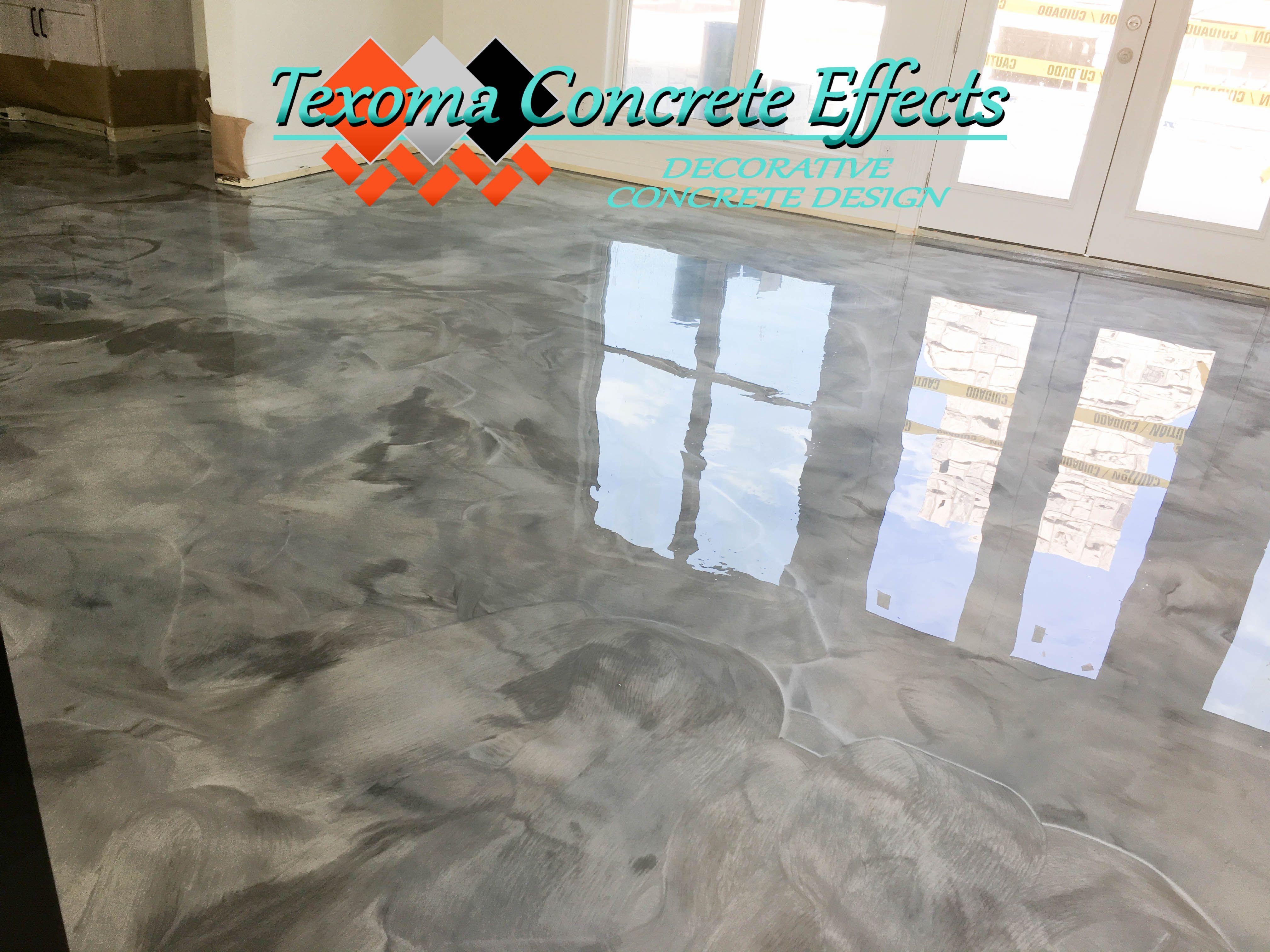 Metallic Epoxy Floor In Pool House By Texoma Concrete Effects Iowa Park Tx Metallic Epoxy Floor Epoxy Floor Iowa Park