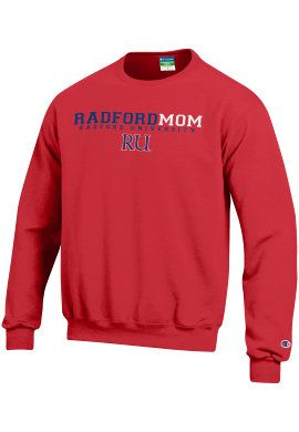 We know Father's Day is coming up, but anytime is a good time to show Mom some love with a Radford University Mom Crewneck Sweatshirt