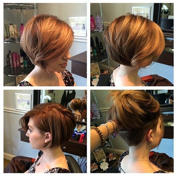 women\u0027s undercut layered bob , Google Search