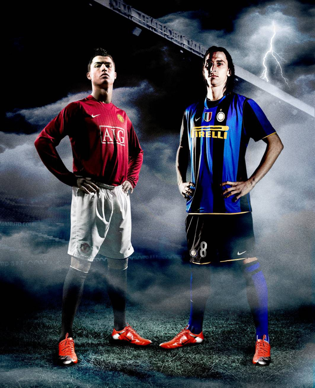 Zlatan Ibrahimovic And Chistiano Ronaldo Psg