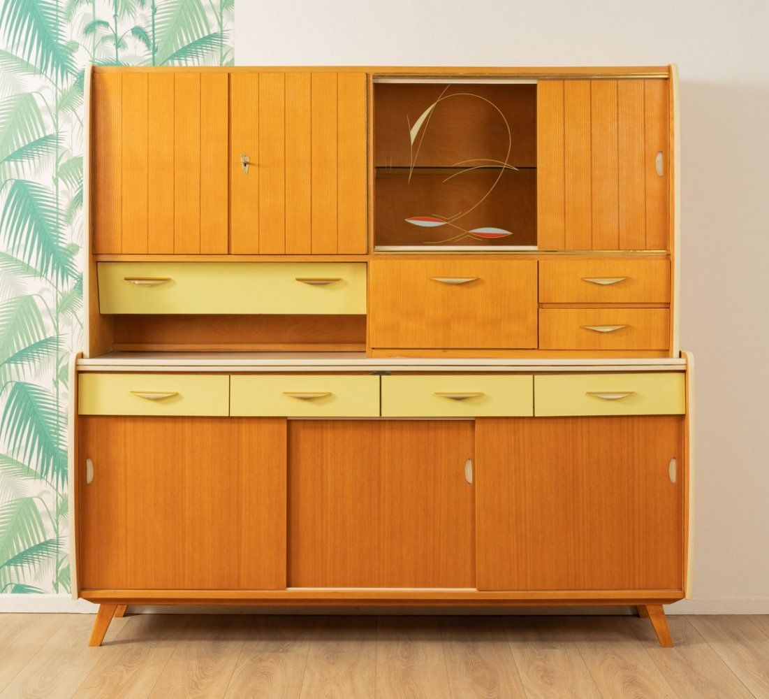 For Sale Ashwood Kitchen Cabinet Germany 1950s In 2020 Kitchen Cabinets Cabinet Kitchen