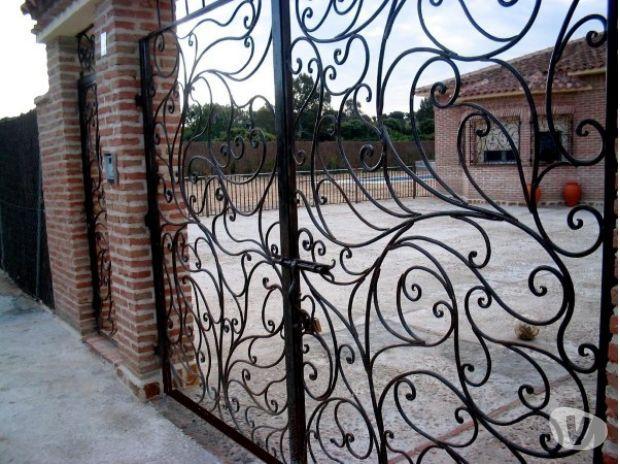 Portones puertas rejas barandas en fierro forjado santiago meryta love pinterest - Fierro forjado santiago ...