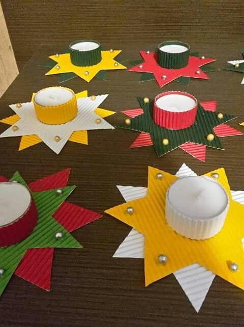 kerzenhalter einfach basteln, kerzenhalter basteln an weihnachten. einfach basteln mit kinder für, Design ideen