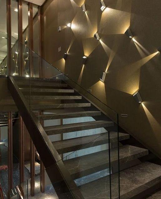 Modern Staircase Design Ideas Living Room Stairs Designs 2019 Stairs Design Modern Wall Lighting Design Staircase Lighting Ideas