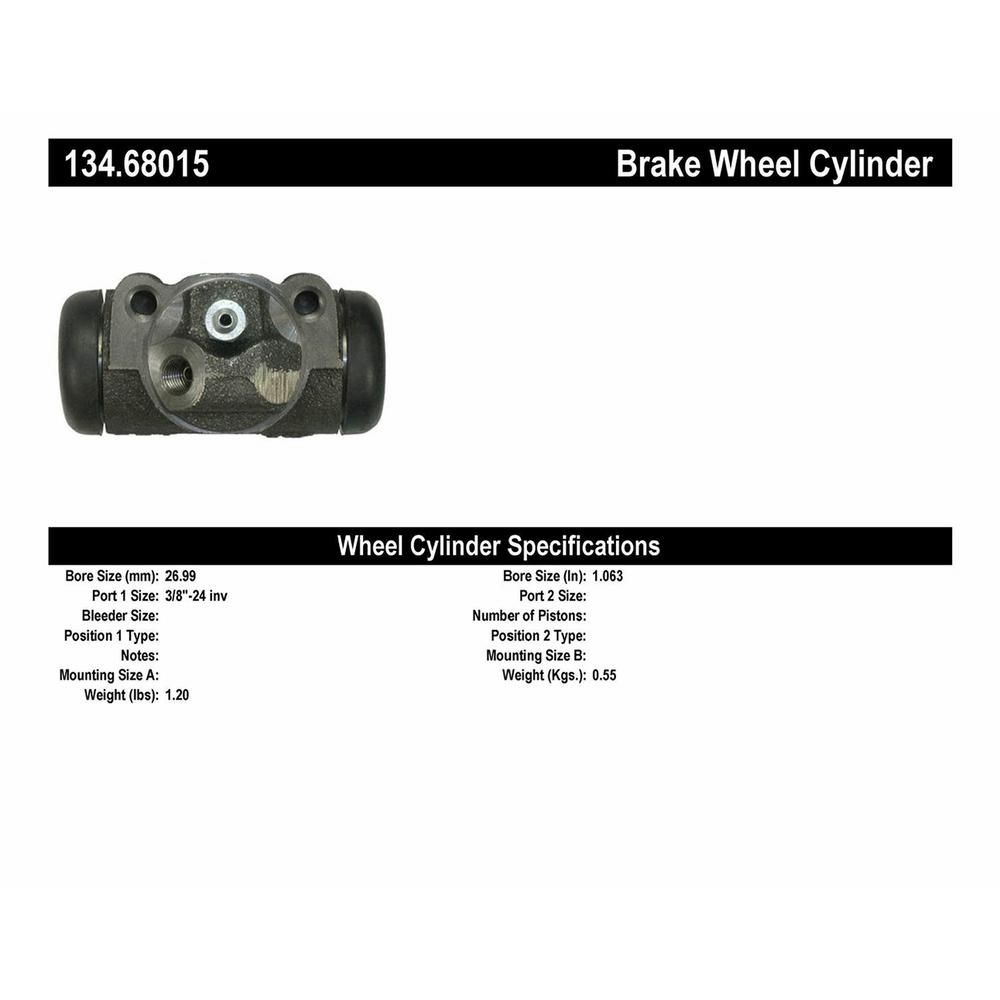 Centric Parts 134.44703 Drum Brake Wheel Cylinder