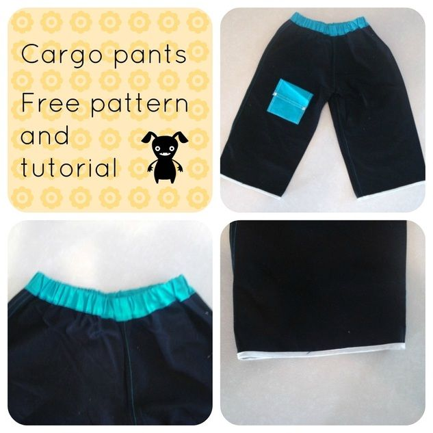 FREE SEWING PATTERN: The cargo pants - Free Sewing Patterns and ...