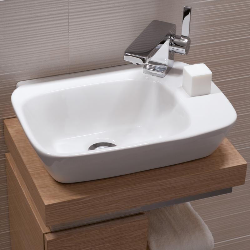 Keramag Silk Handwaschbecken Weiss Mit Keratect 121640600