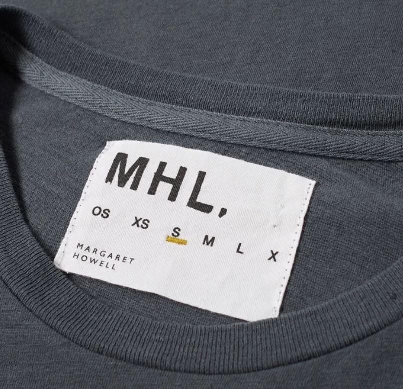 ec873fdf147 MHL by Margaret Howell Basic Tee | Fashion tag | Clothing tags ...