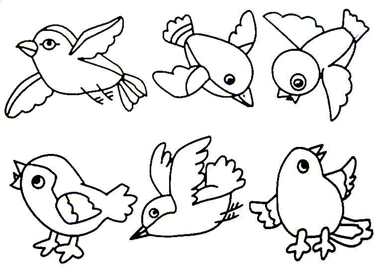 Title Bird Coloring Pages Coloring Pages Birds For Kids