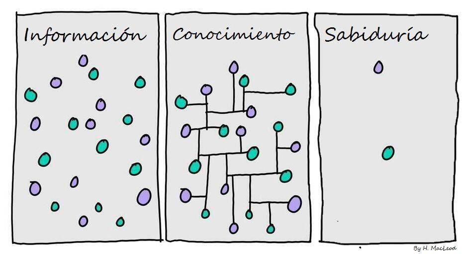 Descubriendo que lo complejo del aprendizaje implica acciones simples
