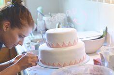 Rezept Fur Zweistockige Torte Torten Kekse Cake Torte Und Fondant